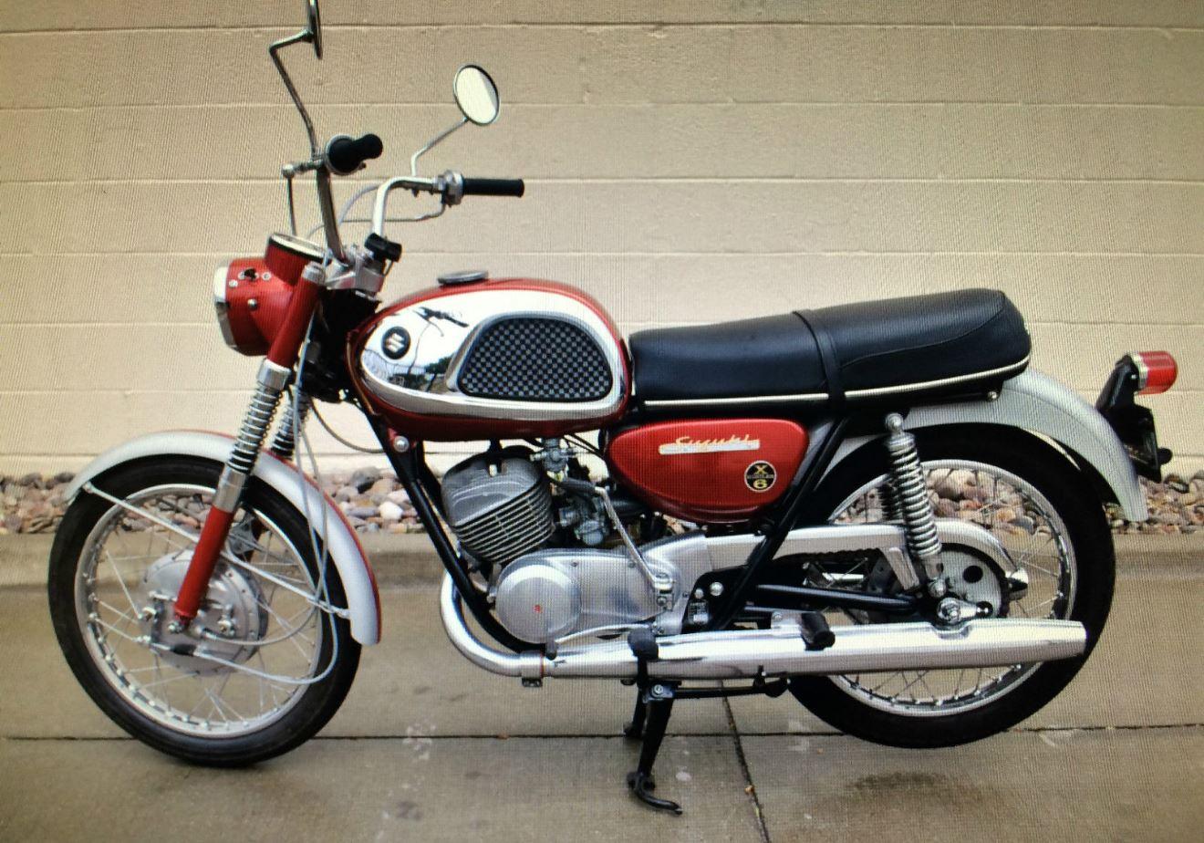 1967 suzuki x-6 hustler | bike-urious