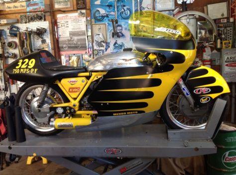 The World's Fastest Moto Guzzi V7 Sport - Right Side