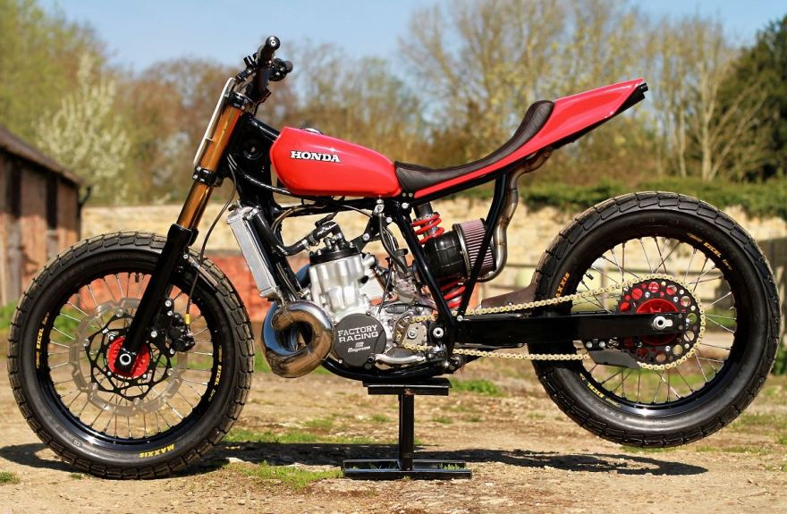 Thornton Road Honda >> 1986 Honda CR500 Street Tracker | Bike-urious