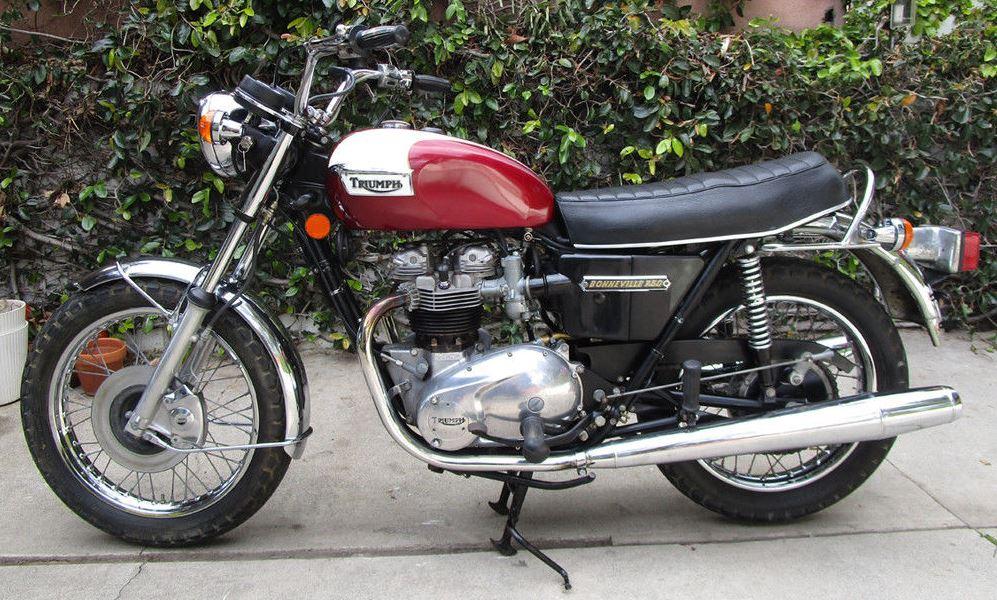 1974 Triumph Bonneville T140v Bike Urious