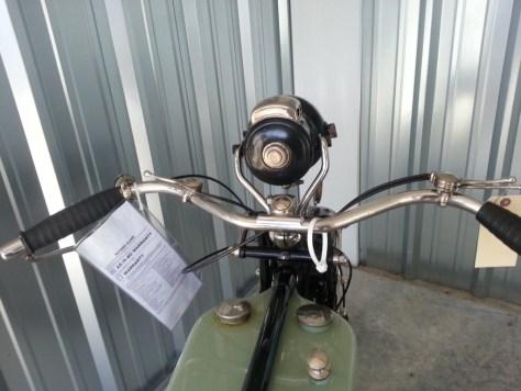 Triumph Model P - Cockpit