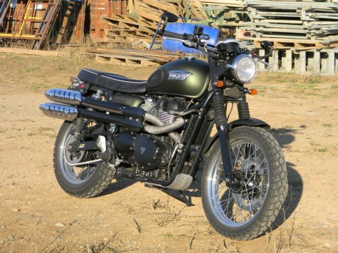 Triumph Scrambler 900 - Front Right