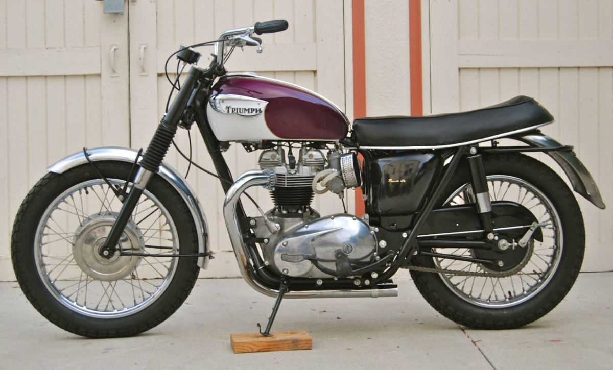 Possible Steal - 1967 Triumph T120TT