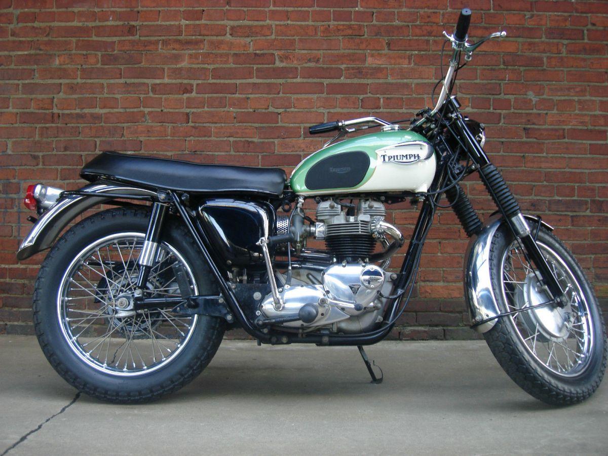 1967 Triumph Tr6c Trophy Bike Urious