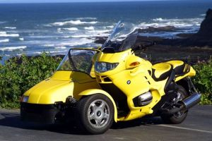 Turbo Rotary Power – 2002 BMW K100/R1150RT with California Sidecar