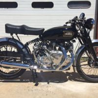 Not Bought on Bike-urious - Terry Prince-Made – 1949 Vincent Rapide