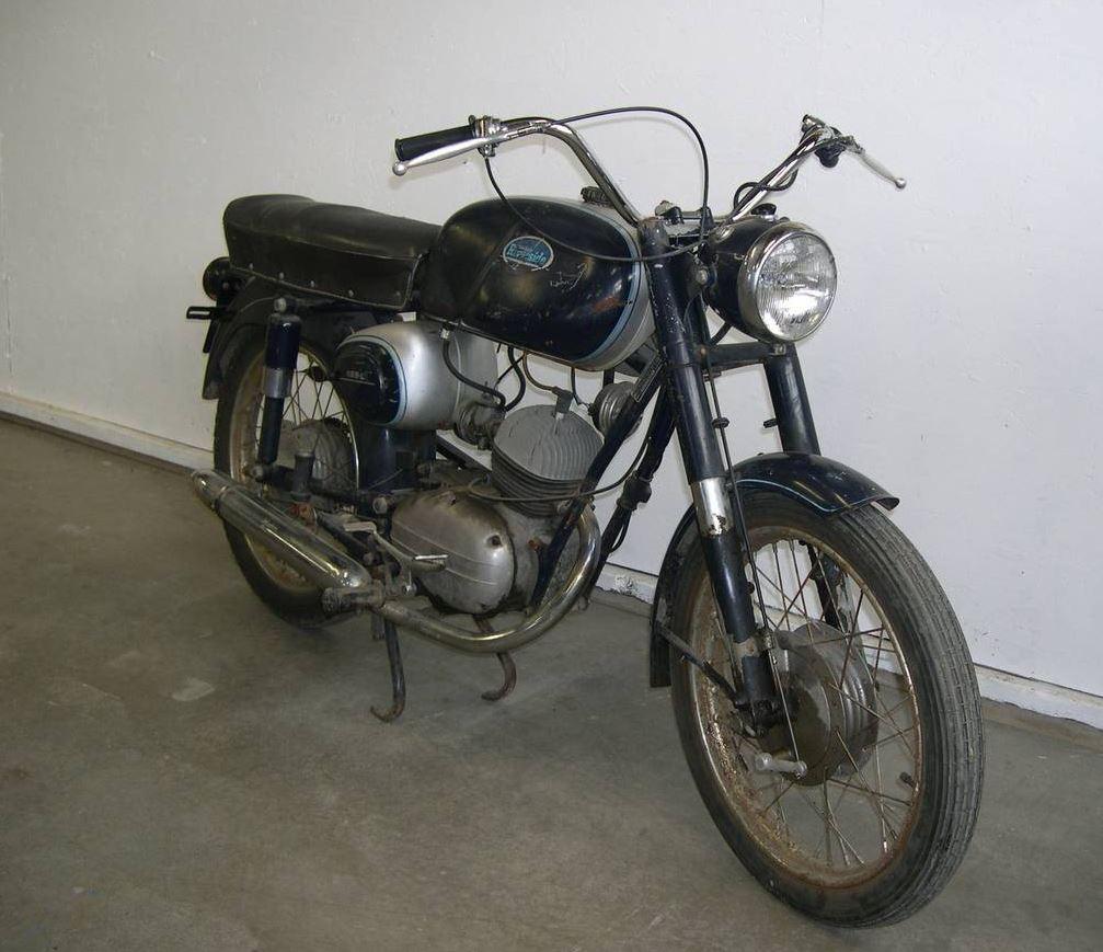 Moto Giro Mount – 1962 Wards Riverside (Benelli) Cobra