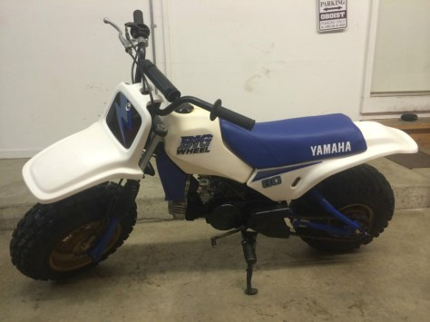 Yamaha Big Wheel BW80 - Left Side