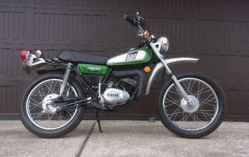 3 Miles - 1976 Yamaha DT100