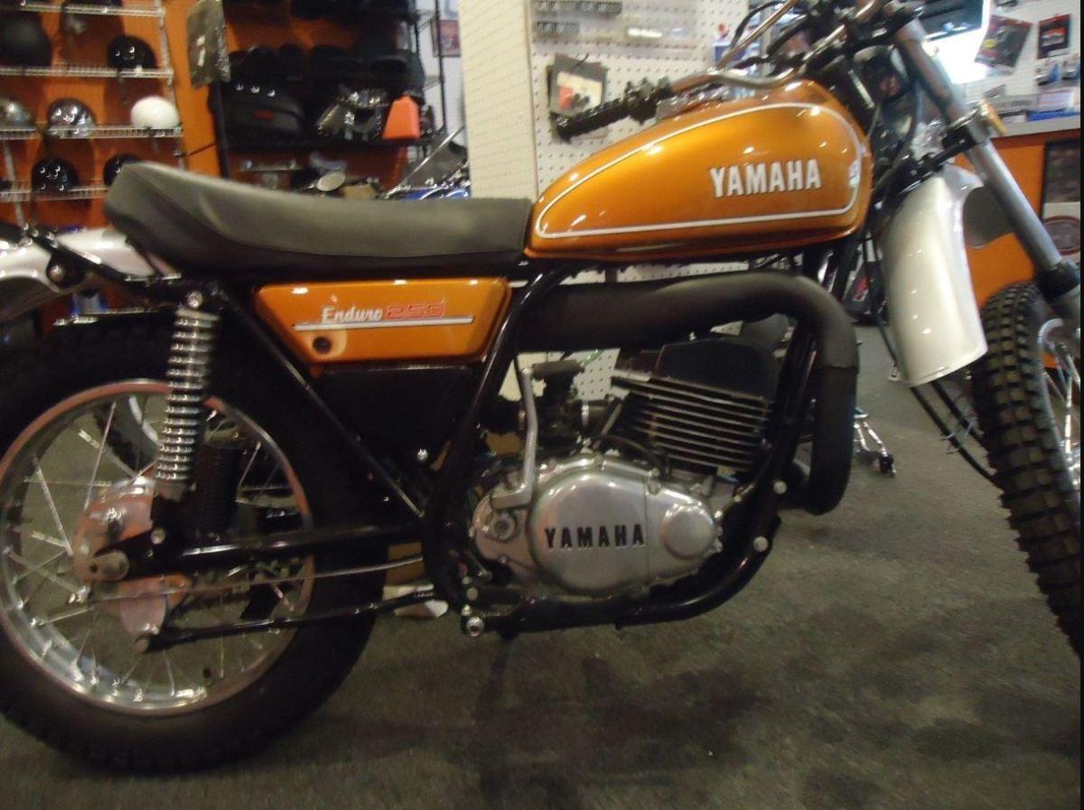 Restored - 1974 Yamaha DT250