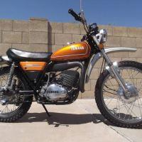 1974 Yamaha DT250A