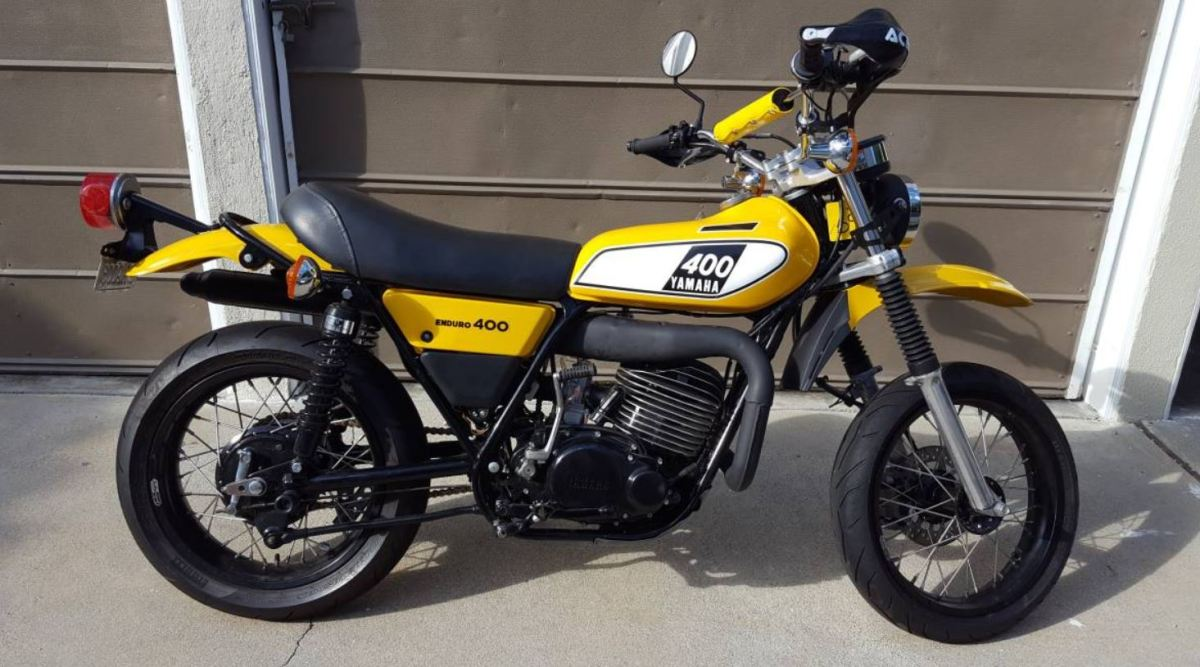 Two-Stroke SuMo Conversion – 1975 Yamaha DT400 Custom