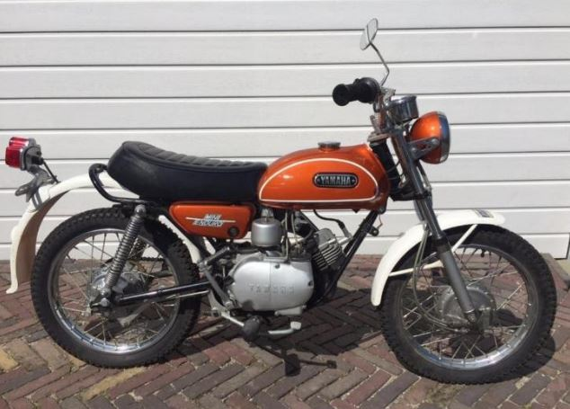 brand new in the netherlands 1973 yamaha fs1 mini enduro. Black Bedroom Furniture Sets. Home Design Ideas