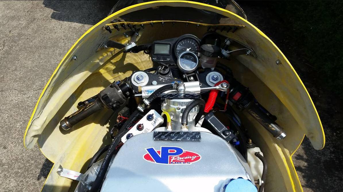 Turbocharged Land Speed Competitor – 2001 Yamaha R1 – Bike ...