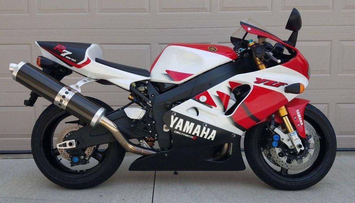 Original Tires - 1999 Yamaha R7 OW-O2