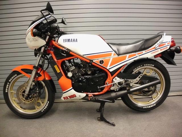 1985 Yamaha RZ350 Kenny Roberts – Bike-urious