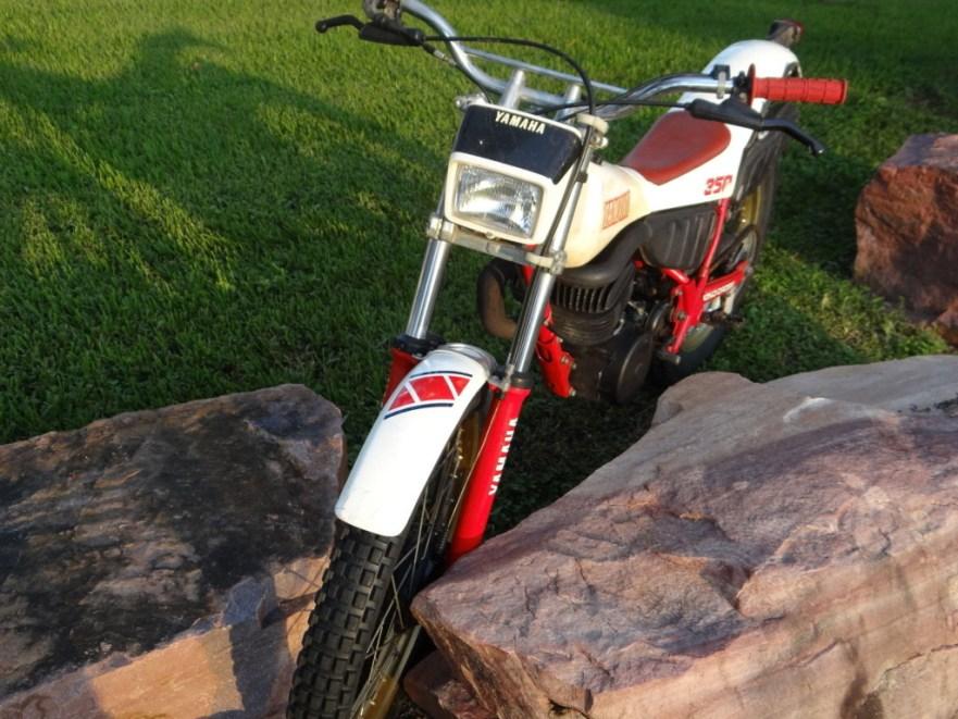 Yamaha TY 350 - Front