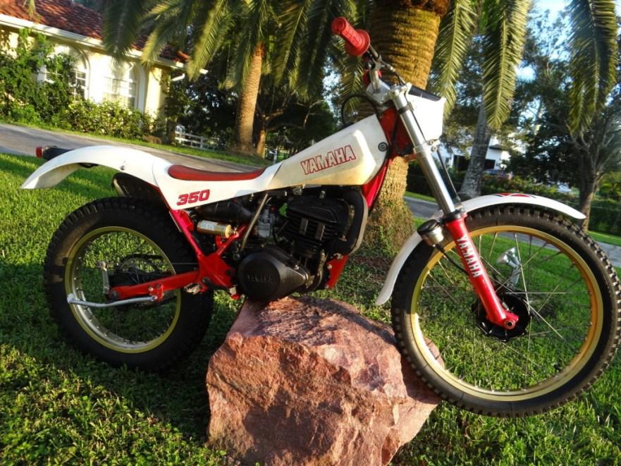Yamaha TY 350 - Right Side