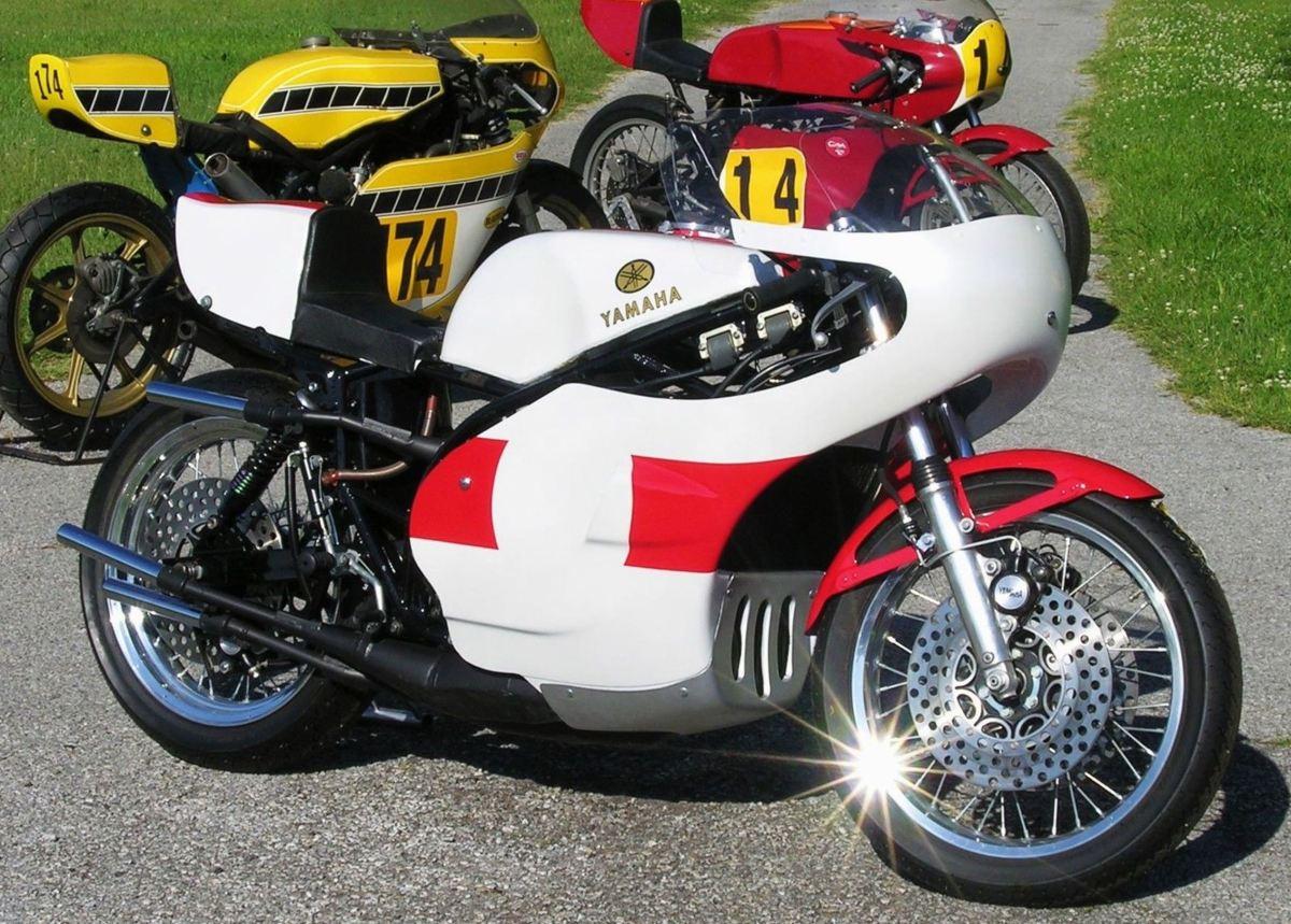Daytona 200 History - 1974 Yamaha TZ750A