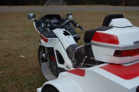 Yamaha Venture Trike - Cockpit