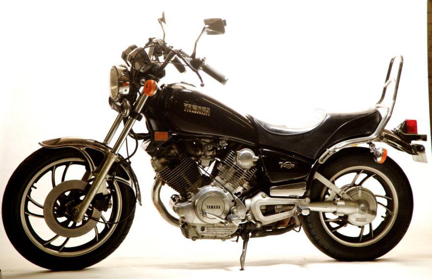 1981 yamaha virago xv750 bike urious for Yamaha midnight virago 750
