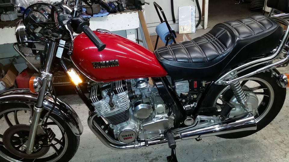 stored in a church basement 1982 yamaha xj650 bike urious. Black Bedroom Furniture Sets. Home Design Ideas