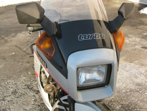 Yamaha XJ650 Turbo - Front Fairing
