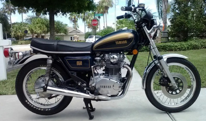 Stayed In The Family 1977 Yamaha Xs650 Bike Urious