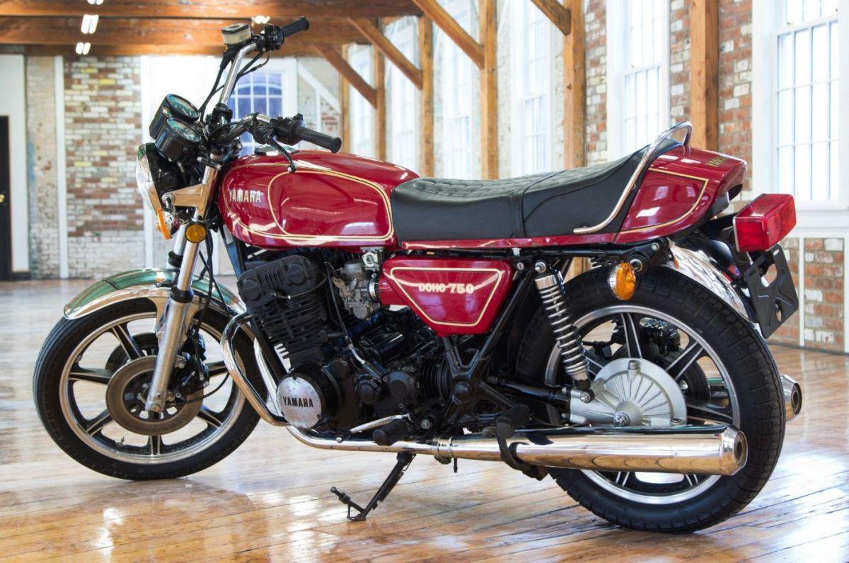 1978 Yamaha Xs750 Bike Urious