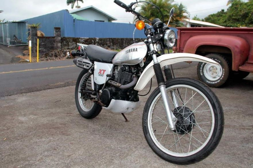 The author's current ride - a 1981 model.  Photo by Cas Vanderwoude.