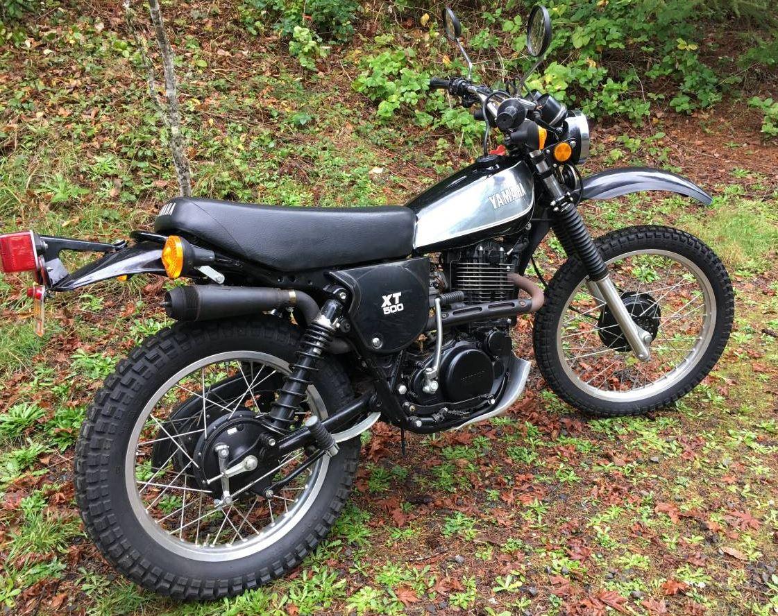 276 Miles - 1980 Yamaha XT500