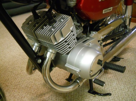Yamaha YCS-1 180 Bonanza - Engine