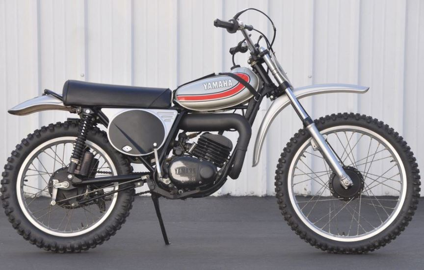 1974 Yamaha Yz125 Bike Urious