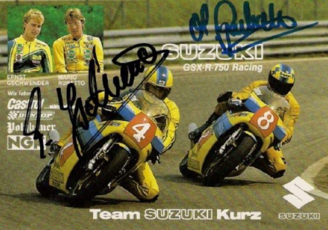 Image result for 1985 yoshimura Suzuki GSX-R750 XR51 le man