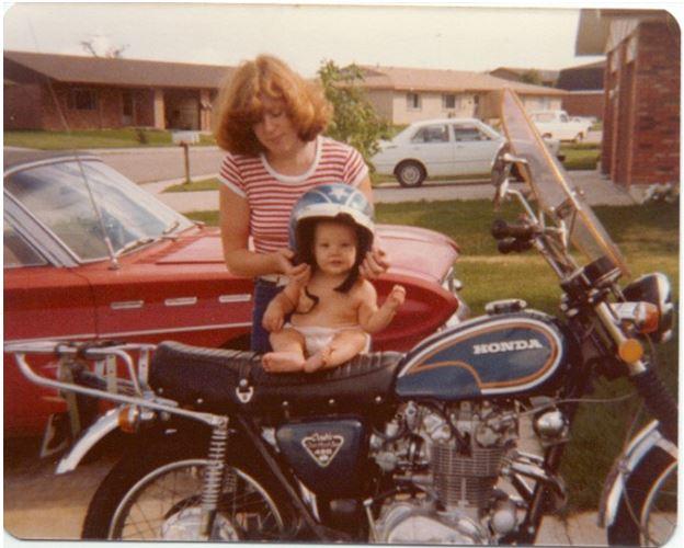 Zack Loucks - Baby in a Helmet