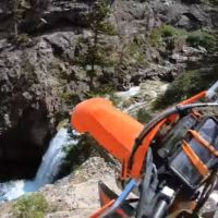 Video Intermission - Schofield Pass Crash Into The Waterfall