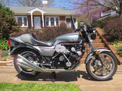 supercharged Honda CBX - Right Side