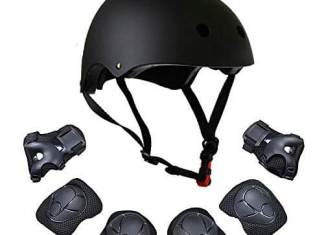 XINGCHENGSPORT Kids Multi-Sport Helmet With Knee&Elbow Pads and Wrists 7 Pieces