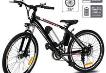 Aceshin 26'' Electric Mountain Bike with Removable Large Capacity Lithium-Ion Battery