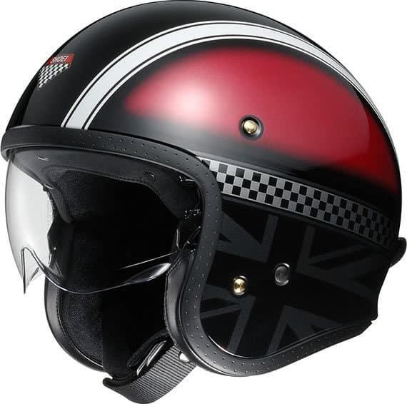 Shoei J O Fibreglass Helmet