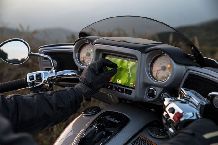 Motorcycle Touch Screens