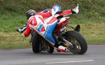 Tandragee 100 Guy Martin Crash