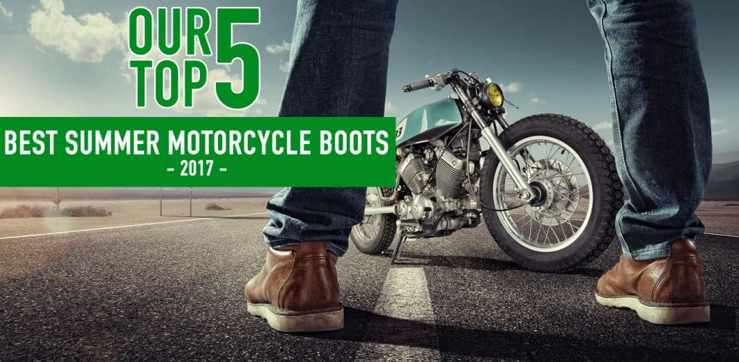 5 of the Best Summer Motorcycle Boots | BikeandRider.co.uk