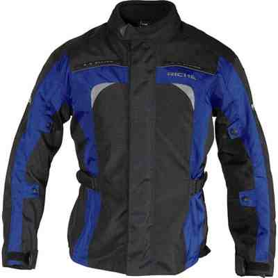 Cheapest Richa Bolt Jacket WP - Black Blue - Price Comparison