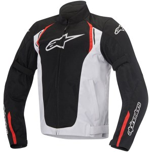 Cheapest Alpinestars AST Air Textile Jacket - Black / White / Red Price Comparison