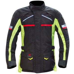 Cheapest Merlin Titan Outlast Textile Jacket - Black / Fluro Price Comparison