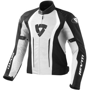Cheapest Rev'it Airforce Textile Jacket - White / Black Price Comparison