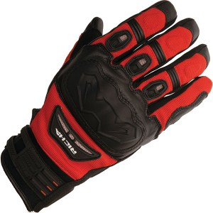 Cheapest Richa Evolution Glove - Black / Red Price Comparison