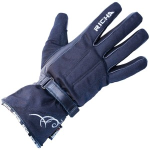 Cheapest Richa Ladies Carmen Gloves - Black Price Comparison