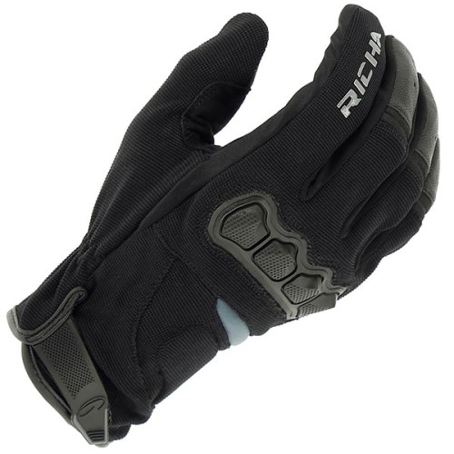 Cheapest Richa Spyder Mixed Glove - Black Price Comparison